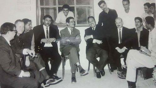 إحدى إجتماعات التحضير  للعدد رقم زيرو من جريده أخبار  فلسطن